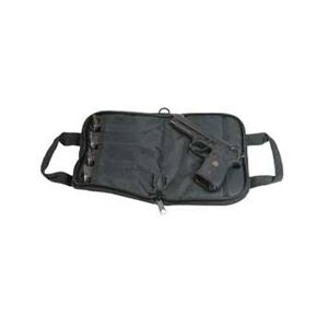 """Outdoor Connection Tactical 14"""" Soft Pistol Case with Mag Pocket Black"""