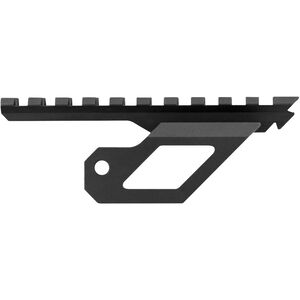 AIM Sports M14/M1A Side Scope Mount V2  Picatinny Rail Mount Aluminum Black