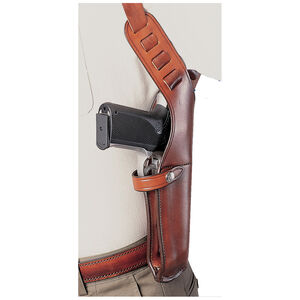 Bianchi X15 Vertical Shoulder Holster Right Hand Medium Leather Tan
