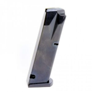 ProMag Beretta 92F Magazine 9mm Luger 17 Rounds Flush Fit Steel Blued BER-A12