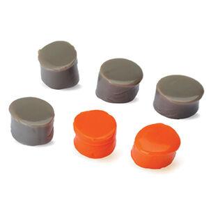 Walker's Game Ear Custom Molded Ear Plug Kit 3 Pair Orange Flat Dark Earth