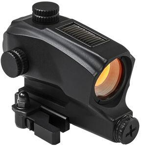 NcSTAR SPD Solar Reflex Optic Red Dot Illuminated 2 MOA Dot QD Mount 1 AA Battery Aluminum Anodized Black