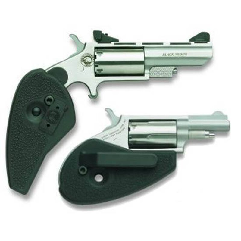 North American Arms Holster Grip For Magnum Mini Revolvers Polymer Black  GHG-M