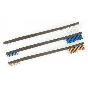 Otis All Purpose Brushes Nylon/Bronze/Stainless 9 Pack FG-316-BP