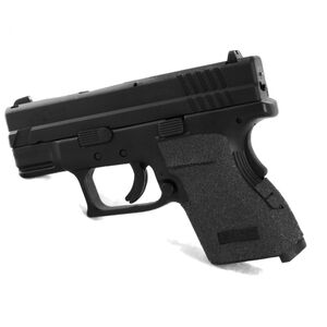 Talon Grips Grip Wrap Springfield XD Sub Compact 9mm Luger/.40S&W Granulated Texture Black