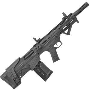 "UTAS Bullie-12 12 Gauge Semi Automatic Bullpup Shotgun 20"" Barrel 3"" Chamber 5 Rounds Fixed Synthetic Stock Matte Black Finish"
