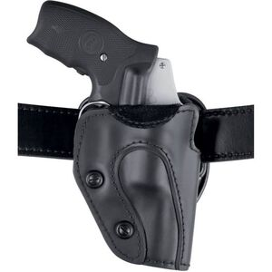 Safariland 567 Custom Fit Holster Colt, Ruger, S&W, Taurus Revolvers Right Hand STX Plain Black Finish 567-01-411