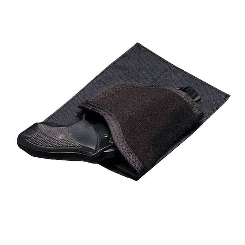 5.11 Tactical Back-Up Belt System Holster Pouch Small J Frame/Small Frame Autos/Sub Compact Autos Ambidextrous Nylon Black 59002-019