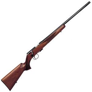 "Anschutz 1517 D HB Nuss Classic Bolt Action Rifle .17 HMR 23"" Heavy Barrel 4 Rounds Single Stage Trigger Walnut Stock Blued Finish 009955"
