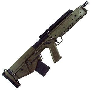 "Kel-Tec RDB Semi Auto Bullpup Rifle 5.56 NATO 17.3"" Barrel 20 Round AR-15 Compatible Magazine Ambidextrous Controls Downward Ejection Synthetic Stock Green Finish"