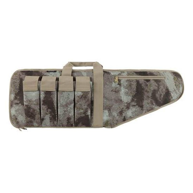 "Bulldog Extreme Tactical Case 38"" A-TACS AU Camo with 4 Mag Holder"