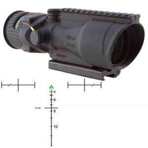 Trijicon ACOG 6x48 Rifle Scope Dual Illuminated Green Chevron .308 Ballistic Reticle Matte Black Finish