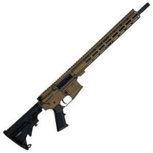 "GLFA .350 Legend Rifle .350 Legend AR-15 Semi-Auto Rifle 16"" Barrel 5 Rounds Optic Ready Synthetic Black Stock Bronze Finish"