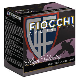 "Fiocchi Optima Specific High Velocity 20 Gauge Ammunition 25 Rounds 2-3/4"" #5 Shot 1oz Lead 1220fps"