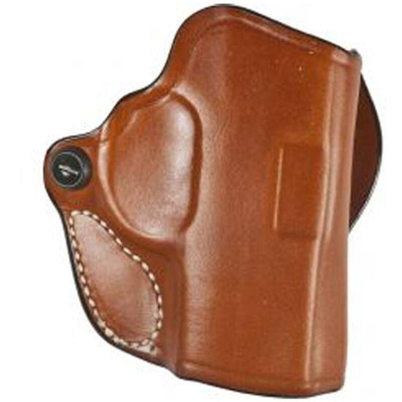 "DeSantis Mini Scabbard Holster S&W J Frame 2-2.25"" Barrels OWB 1.5"" Belt Right Hand Leather Tan"