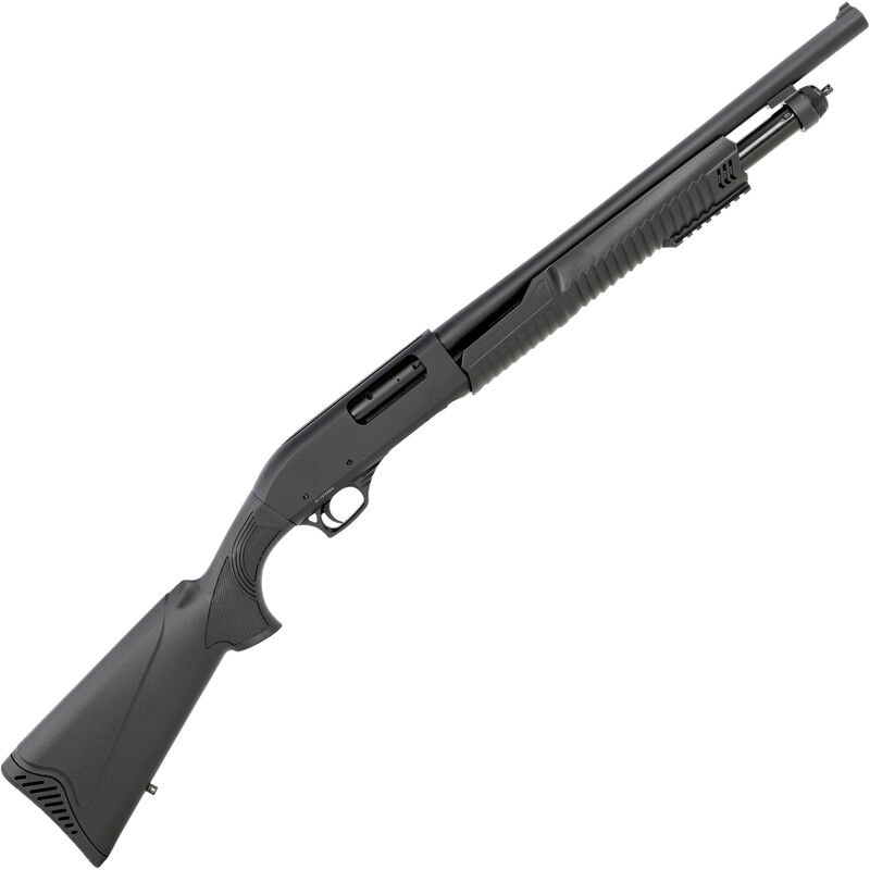 """SDS Imports SLB X2 12 Gauge Pump Action Shotgun 18.5"""" Barrel 3"""" Chamber 5 Rounds Blade Front Sight Synthetic Stock Black Finish"""