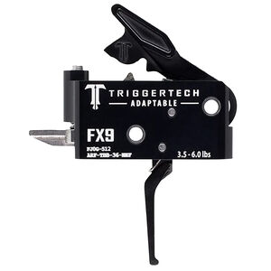 TriggerTech Freedom Ordinance FX-9 Adaptable Two-Stage Drop-In Flat Trigger Black PVD Finish