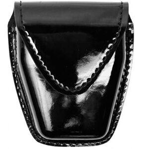 Safariland Model 190 Handcuff Pouch Chain Cuffs Top Flap Hidden Snap SafariLaminate High Gloss Black 190-9HS