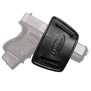 Tagua IWH Inside the Waist Universal Small Frame Holster Ambidextrous Leather Black IWH-001