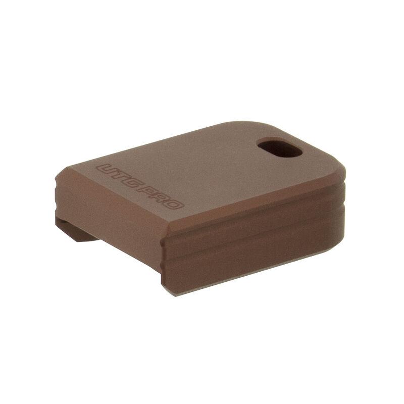 UTG PRO +0 Base Pad, SA XDm, Matte Bronze Aluminum