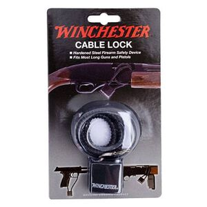 "Winchester 15"" Steel Cable Lock for Long Guns and Pistols"