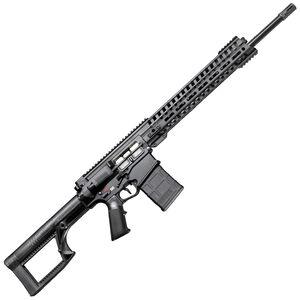 "POF USA Edge 6.5 Creedmoor Semi Auto Rifle 20"" Barrel 20 Rounds Short Stroke Gas Piston System 14.5"" M-LOK Free Float Rail Matte Black"