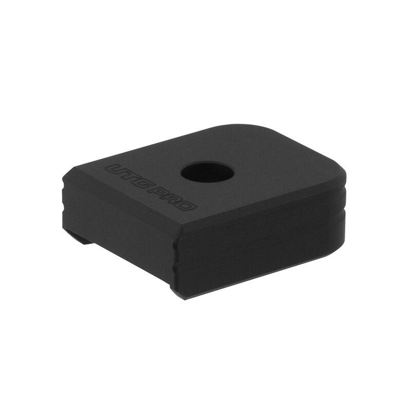 UTG PRO +0 Base Pad, HK VP9/P30 9/40, Matte Black Aluminum