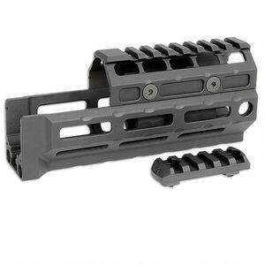 Midwest Industries Gen 2 AK-47/AK-74 Universal Hand Guard M-LOK Compatible Rail Top Cover 6061 Aluminum Matte Black