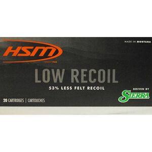 HSM Low Recoil 7mm-08 Rem Ammunition 20 Rounds 140 Grain Sierra SBT