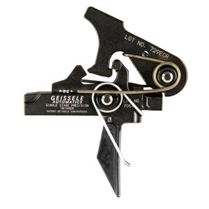 Geissele Automatics Single Stage Precision Dynamic Flat Bow AR Trigger 05-483