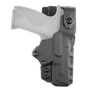DeSantis Just Cause 2.0 Duty Belt Holster Fits S&W M&P Full Sized and Compact Right Hand Kydex Black