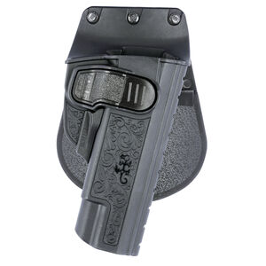 Fobus CH Series 1911 Holster Right Hand No Rail Paddle Black