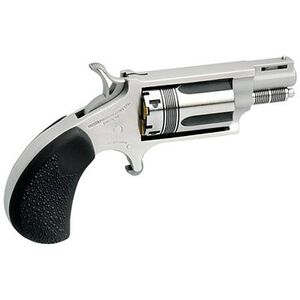 "North American Arms Wasp Revolver .22 WMR 1.125"" Barrel 5 Rounds Rubber Grips Stainless Frame and Finish NAA-22MS-TW"