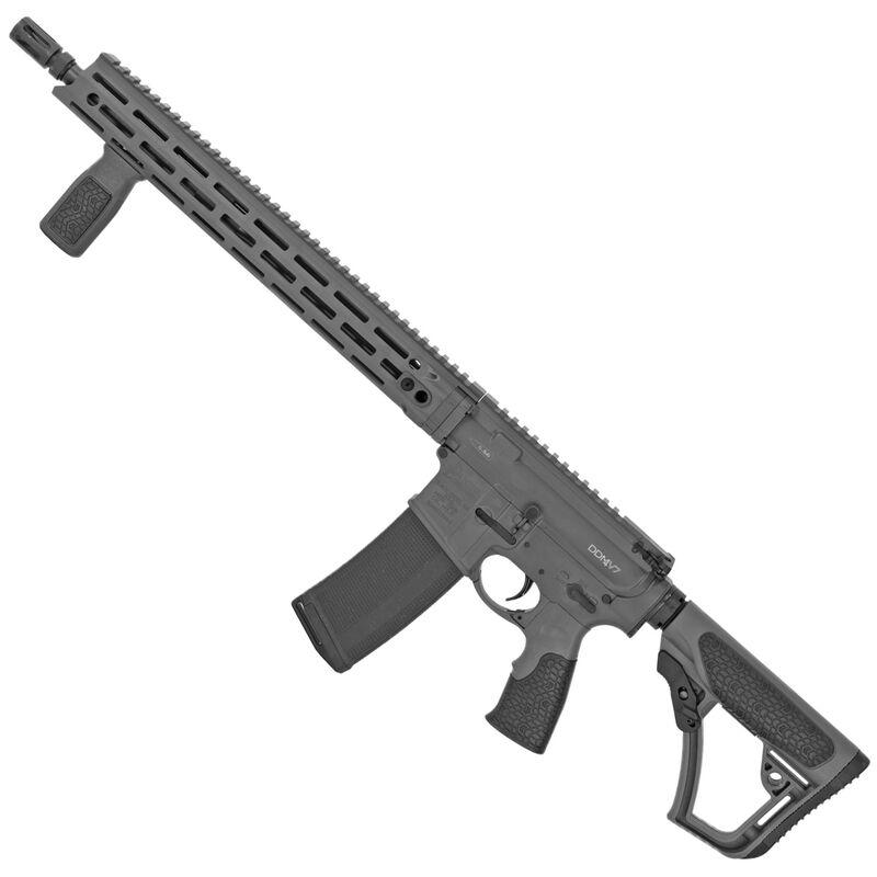 "Daniel Defense DDM4V7 AR-15 Semi Auto Rifle 5.56 NATO 16"" Barrel 10 Rounds 15"" M-LOK Hand Guard Tornado Grey"