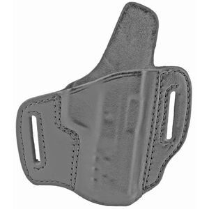 Don Hume H721OT Belt Holster for S&W M&P Shield EZ 2.0 9MM Right Hand Black Leather