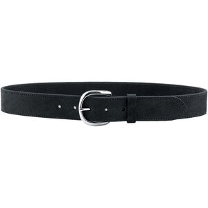"""Galco Gunleather CLB5 Carry Light Belt 1.5"""" Wide Nickel Plated Brass Buckle Leather Size 36 Black CLB5-36B"""