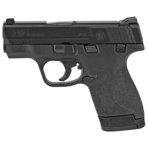 "S&W M&P Shield M2.0 .40 S&W Semi Auto Handgun 3.1"" Barrel 7 Rounds Thumb Safety Polymer Black"