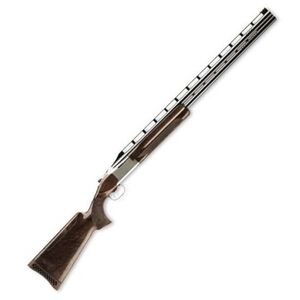 """Browning Citori 725 Trap Over/Under Shotgun 12 Gauge 32"""" Barrel 3"""" Chamber 2 Rounds Walnut Stock Adjustable Comb Silver Nitride Finish with Gold Accented Engraving 0135803009"""