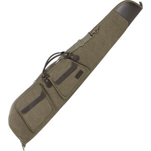 "Allen 48"" Scoped Rifle North Platte Heritage Gun Case Cotton Canvas Olive"