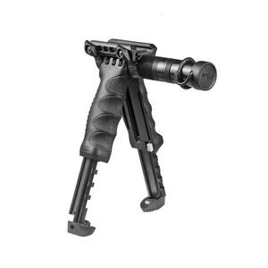 FAB Defense T-POD G2 SL 3 in 1 Tactical Foregrip Bipod and Tactical Light Black