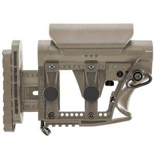 Luth-AR MBA-3 AR-15 Carbine Buttstock Adjustable Polymer Flat Dark Earth MBA-3F
