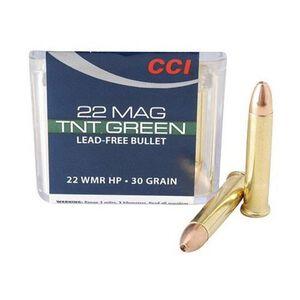 CCI TNT Green .22 WMR Ammunition 50 Rounds JHP 30 Grain 2,050 Feet Per Second