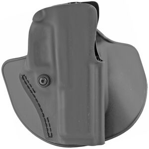 "Safariland Model 5198 Paddle/Belt Loop OWB Holster Right Hand Draw S&W M&P 9/40 with 5"" Barrel SafariLaminate Construction STX Plain Black"
