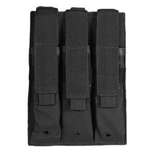 Fox Outdoor Triple MP 5 Mag Pouch Black 57-6531