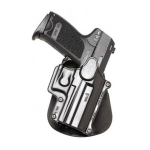 Fobus Holster H&K USP/Ruger SR9,SR40/S&W SW9 Right Hand Roto-Paddle Attachment Polymer Black