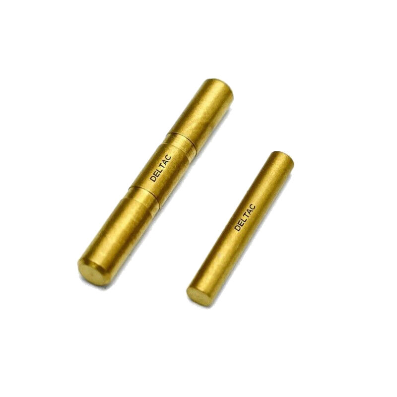 Deltac Two Pin Set for GLOCK 17, 19, 26 and 34 Gen5 Gold