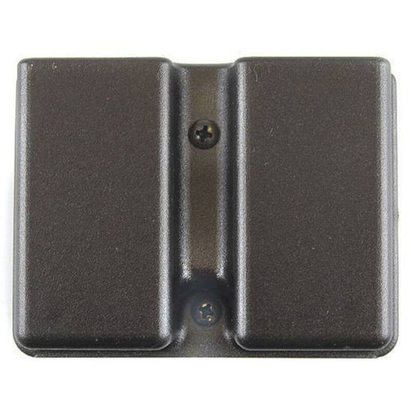 Uncle Mike's Kydex Double Magazine Holder Double Stack 9/40 Magazines Black 51361