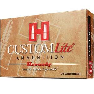 Hornady Custom Lite .243 Winchester Ammunition 20 Rounds SST 87 Grains 80466