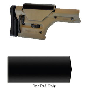 God'A Grip Super Soft Cheek Pad for Precision Rifle Stocks Synthetic Sorbothane Black