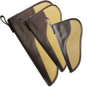 "Birchwood Casey SportLock 14"" Leather/Canvas Handgun Case"